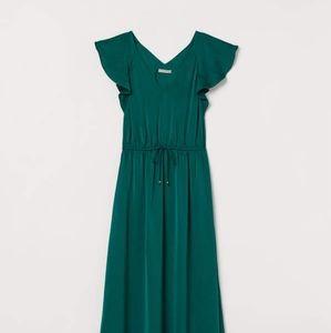 H&M Emerald Maxi Dress